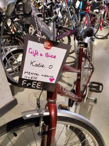 Gift a Bike to nurses